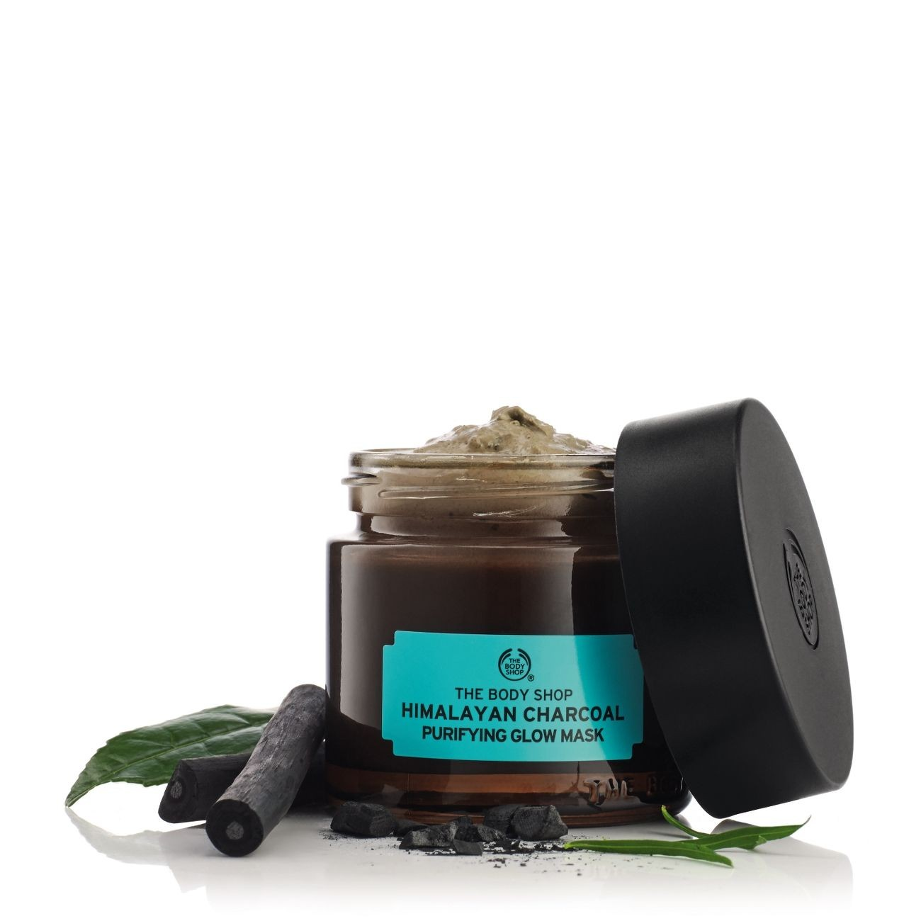 Himalayan Charcoal Purifying Glow Mask 75gr - The Body Shop