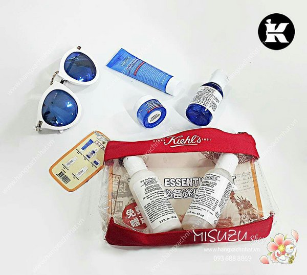 Kiehl's Travel Essentials Kit (5 sản phẩm)