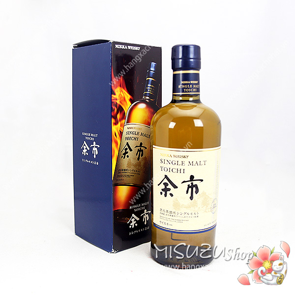 Rượu Nikka Single Malt Yoichi (700ml, 48%)
