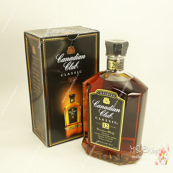 Rượu Whisky Canadian Club Classic 12 Years Old 700ml, 40% HẾT HÀNG
