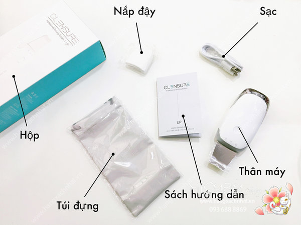 Máy sủi da Clensure - Made in Korea