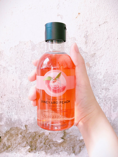 Gel tắm Vineyard Peach 250ml