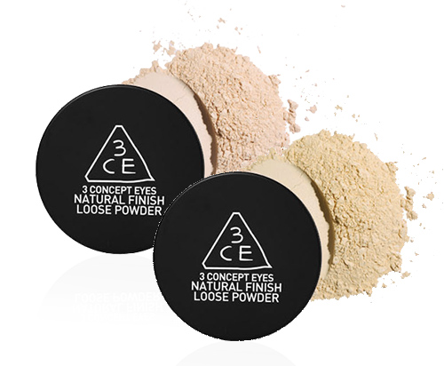 Phấn bột 3CE natural finish loose powder (20gr)
