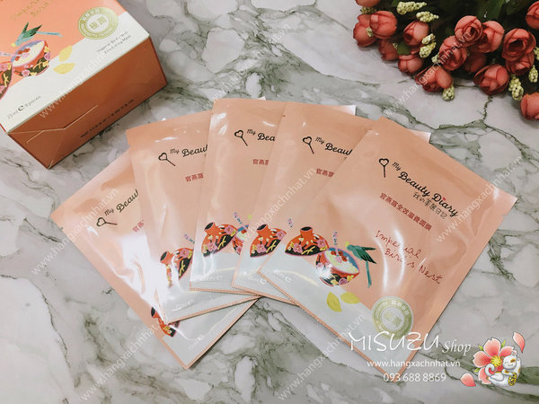MY BEAUTY DIARY-Bird's Nest Mask (mặt nạ chiết xuất tổ yến)