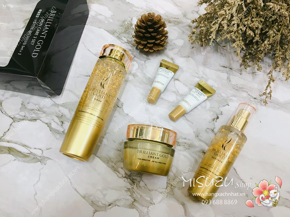 A.H.C Brilliant Gold Skin Care 3 Set