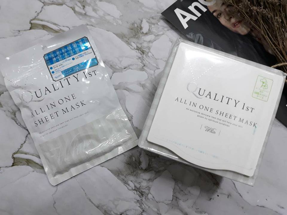 Mặt Nạ Quality 1st All In One Sheet Mask 2