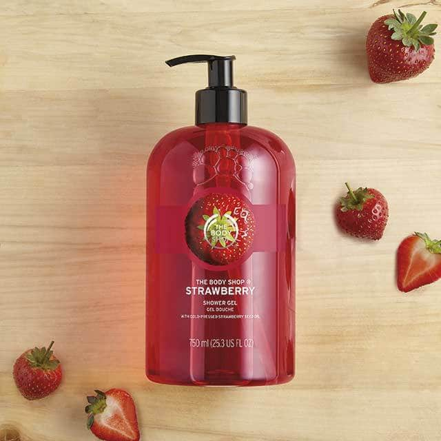Strawberry Shower Gel 750ml