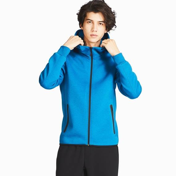 Bộ thể thao Full Zip Hoodie của Uniqlo