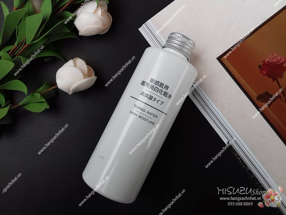 Muji Toning water high moisture 200ml