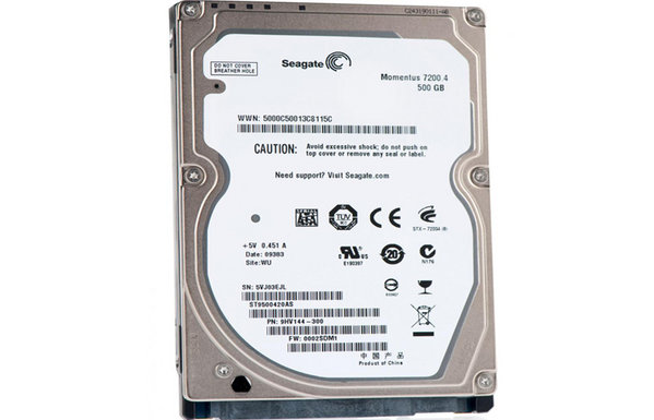 Thay ổ cứng seagate 500gb laptop