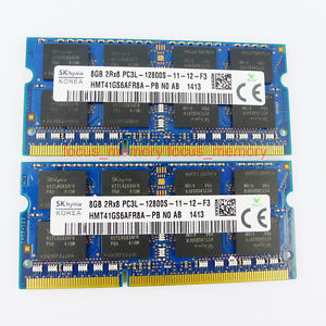Ram laptop 8gb DDram3 bus 1600 hinix