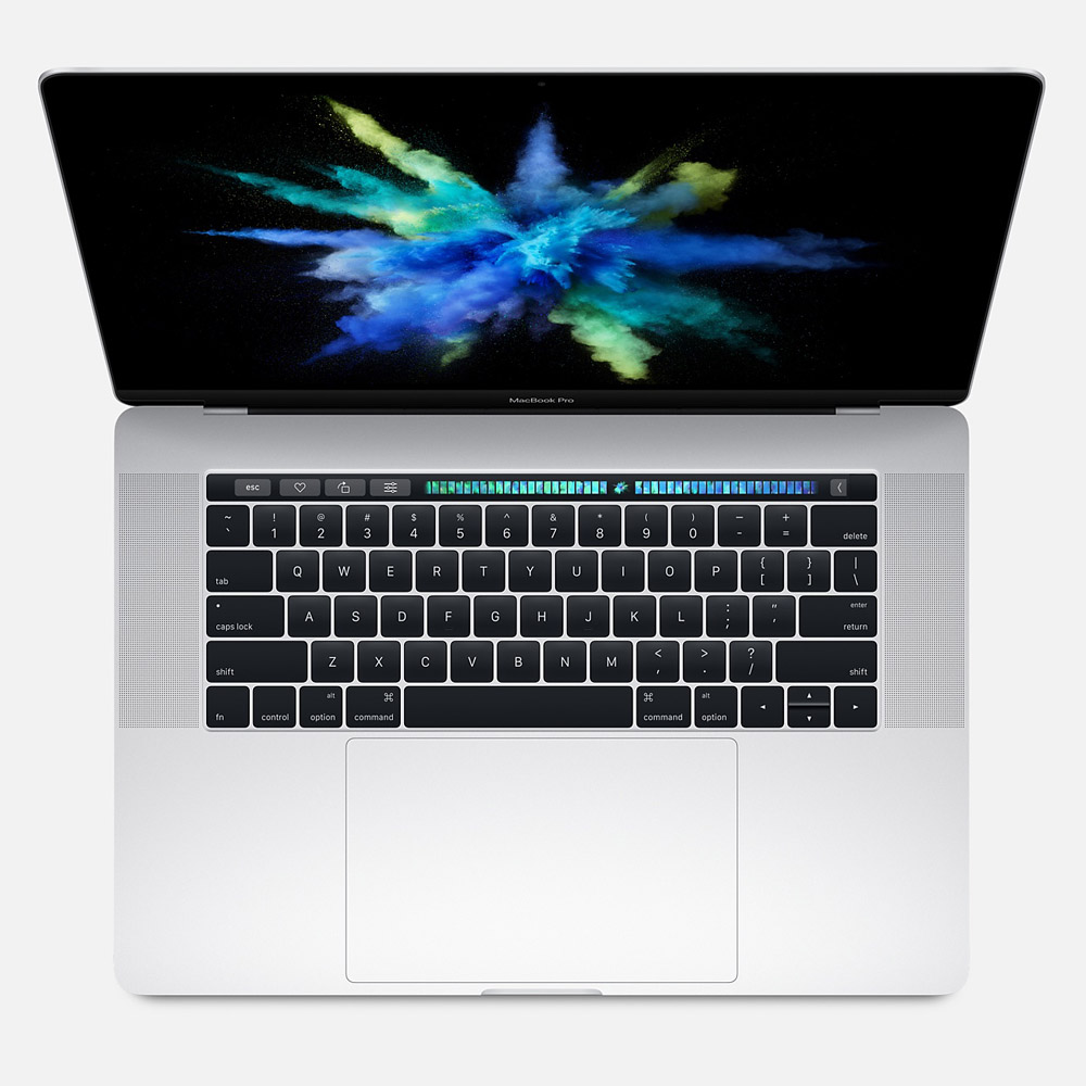 MacBook Pro 15-inch with Touch Bar (Silver) 512GB - MLW82