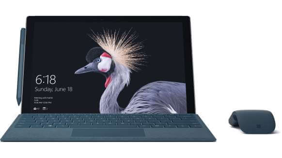 Surface Pro 2017 core M3 4GB 128GB