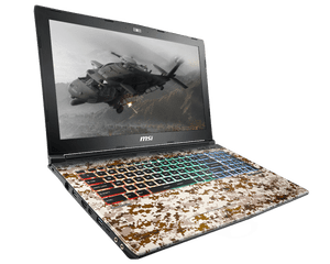 MSI GE62 7RE-676XVN Camo Squad