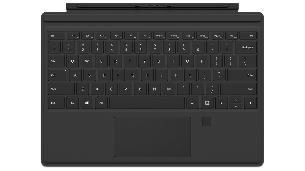 BÀN PHÍM SURFACE PRO 2017 TYPE COVER FINGERPRINT