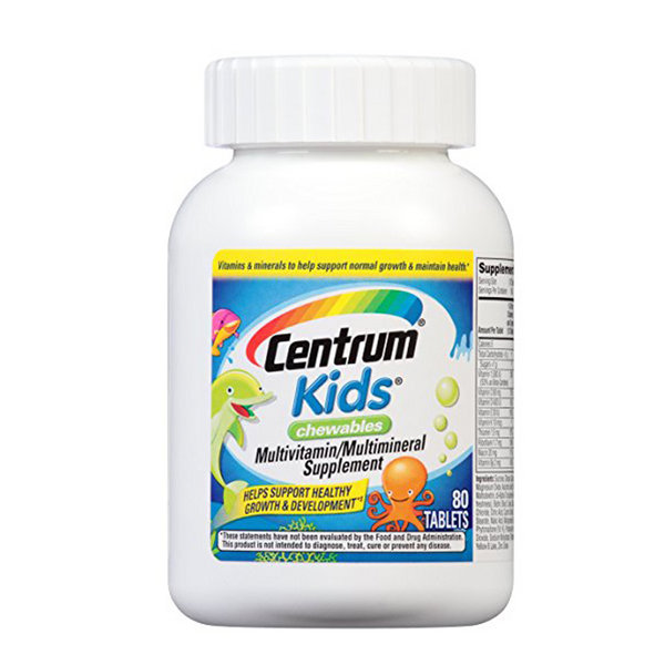 Centrum Kids Multivitamin/Multimineral cho bé
