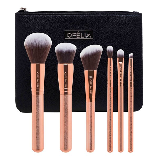 Set cọ Vàng Hồng - Rose Gold Brush Set