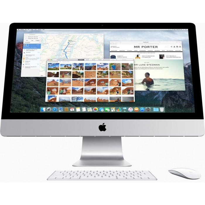 IMAC ALL IN ONE PC MK442 (Intel Core i5 5575R 2.8Ghz/ Ram8GB/ HDD1TB/ VGA Graphics 6200/ LCD 21.5 inchs/ MacOS X)