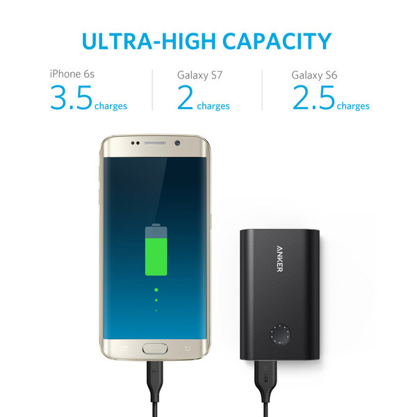 Pin sạc dự phòng PowerCore+ 10050 with QC 3.0 - Quick Charge 3.0