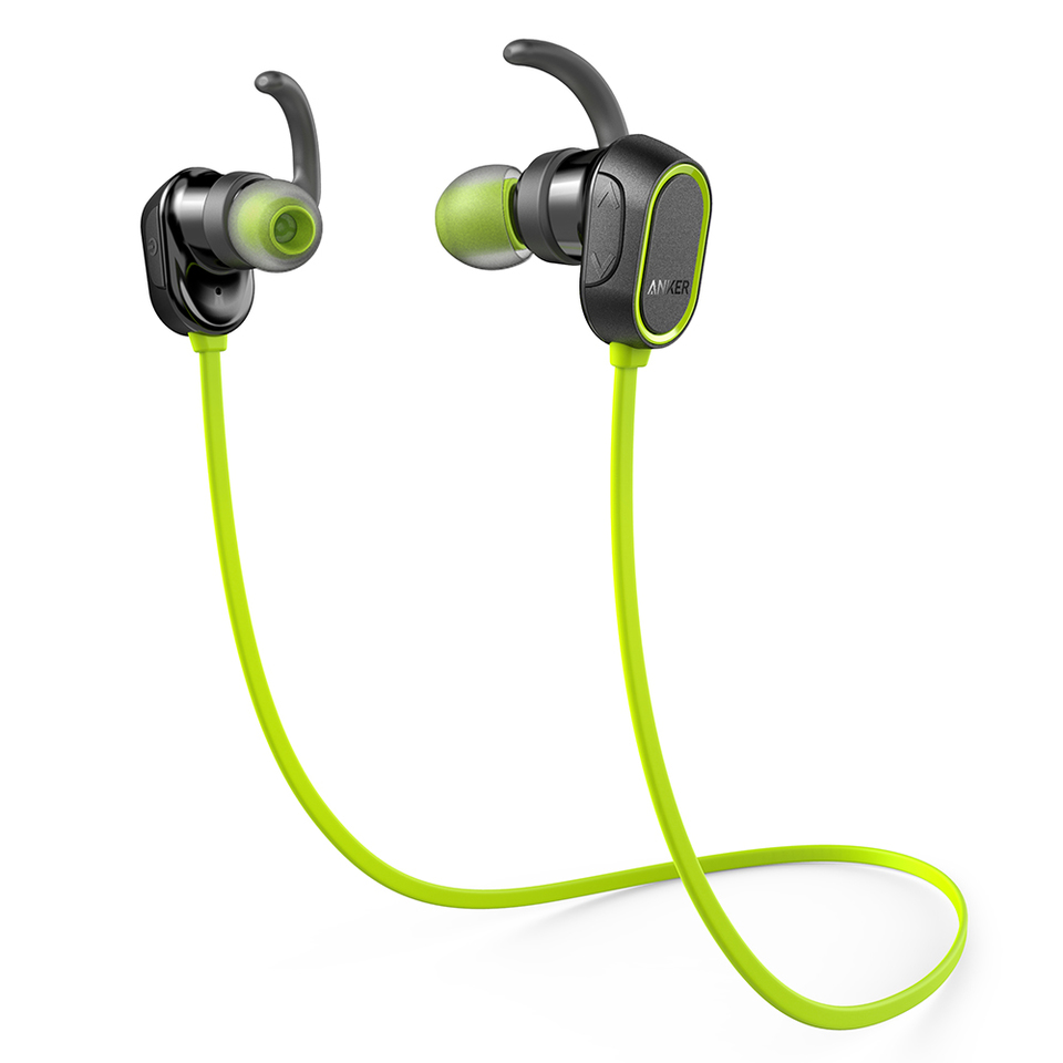 Tai Nghe Bluetooth Anker SoundBuds Sport - Green