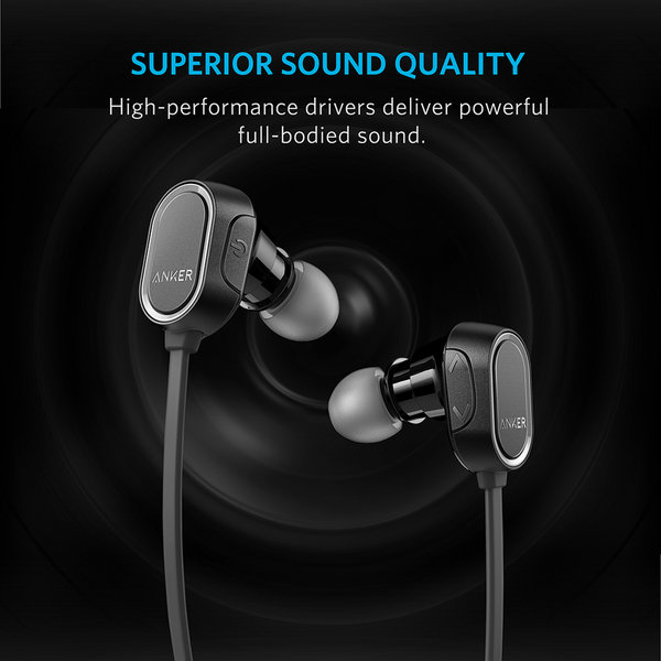 Tai Nghe Bluetooth Anker SoundBuds Sport - Black
