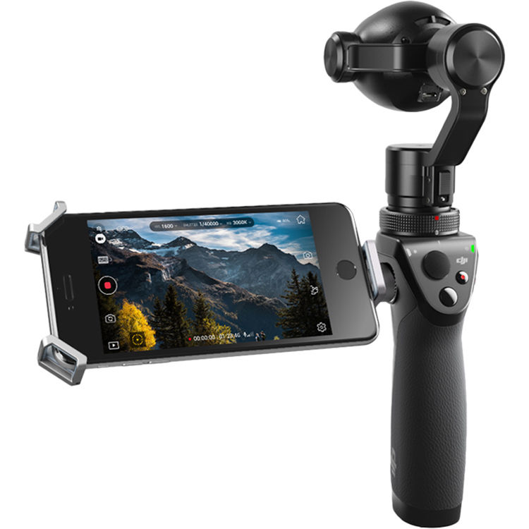 Máy Quay DJI Osmo Plus - Handheld Gimbal with 4K Zoom Camera