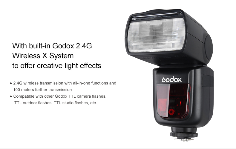 Đèn Flash GODOX V860II TTL for Olympus