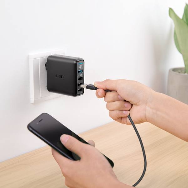 Sạc Anker PowerPort Speed 4 , 43.5w, 1 cổng Quick Charge 3.0