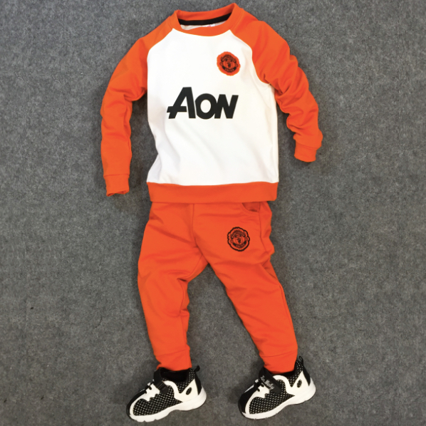 Bộ đồ thể thao Baby Manchester United (Cam)