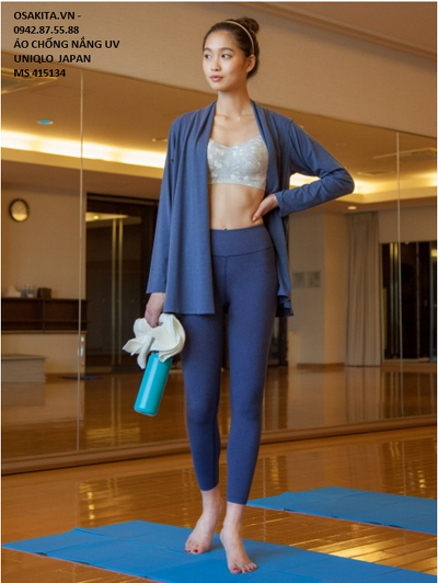ACN Nữ Arism Cardigan-415134-68 Blue-L