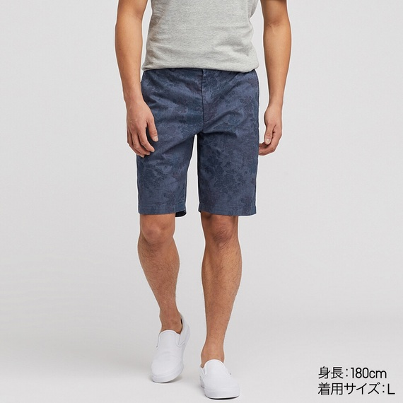 Quần Short Nam Khaki-415551-67 Blue-XL