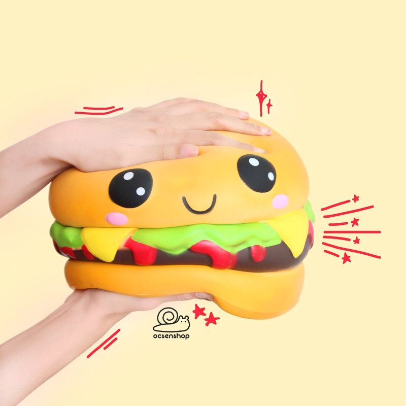 Squishy Jumbo Hamburger