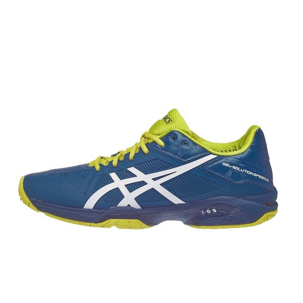 Giày Tennis Asics Gel Solution Speed 3 Blue E600N.4501