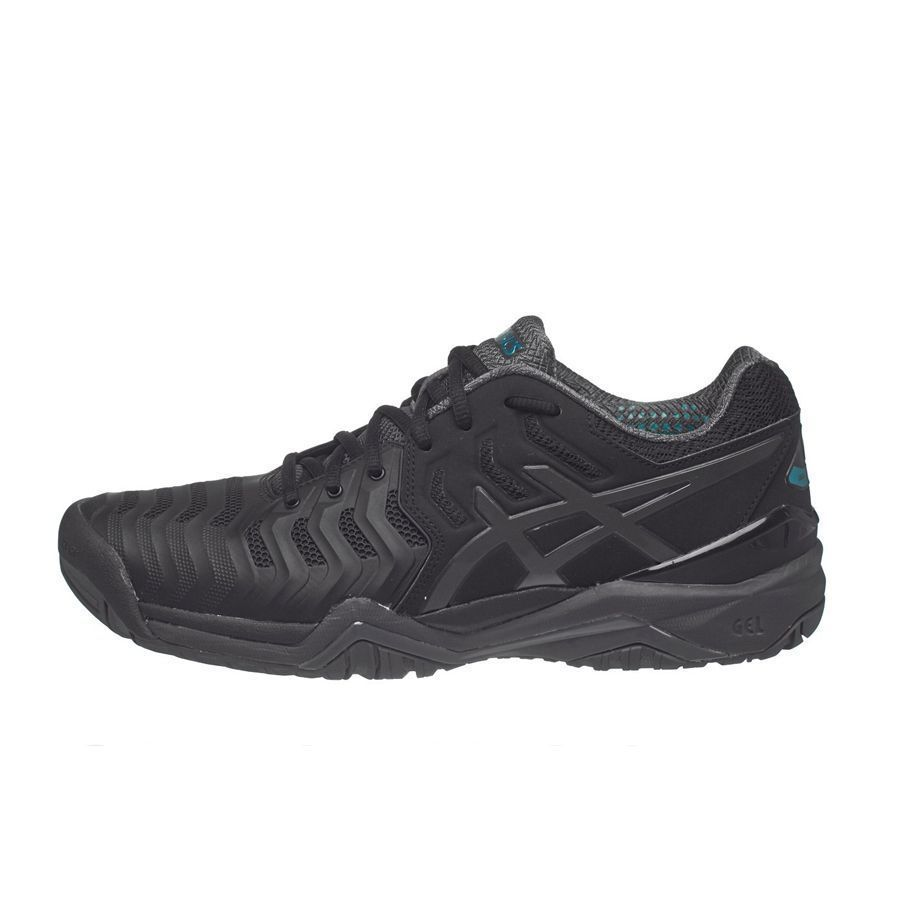 Giày Tennis Asics Gel Resolution 7 Black E701Y.9095