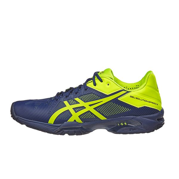 Giày Tennis Asics Gel Solution Speed 3 Bl/Yl