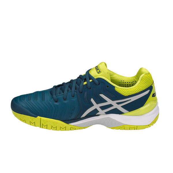 Giày Tennis Asics Gel Resolution 7 Blue/Yellow E701Y.4589