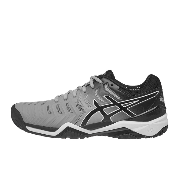 Giày Tennis Asics Gel Resolution 7 Grey/Black E701Y.9690