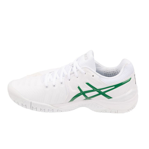 Giày Tennis Asics Gel Resolution 7 Novak Wimbledon 2018 K.E805N-100