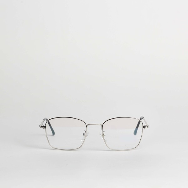 Clement Metallic Glasses (Silver)