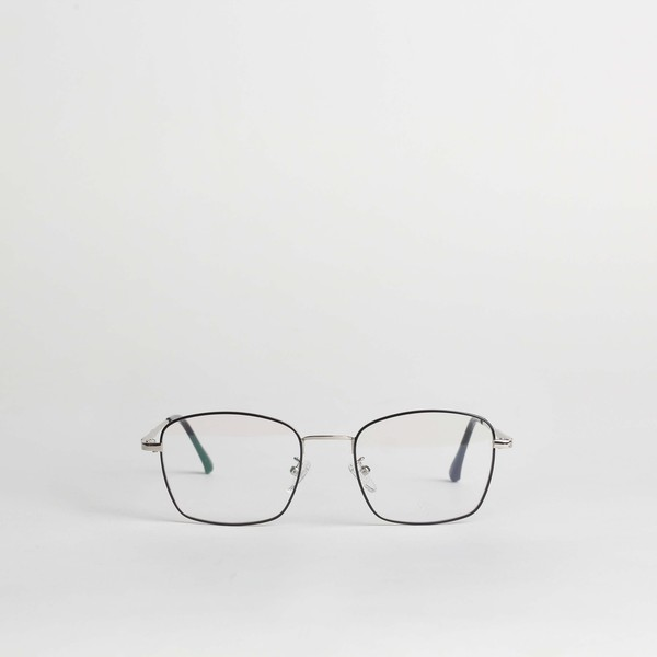 Clement Metallic Glasses (Silver-Black)