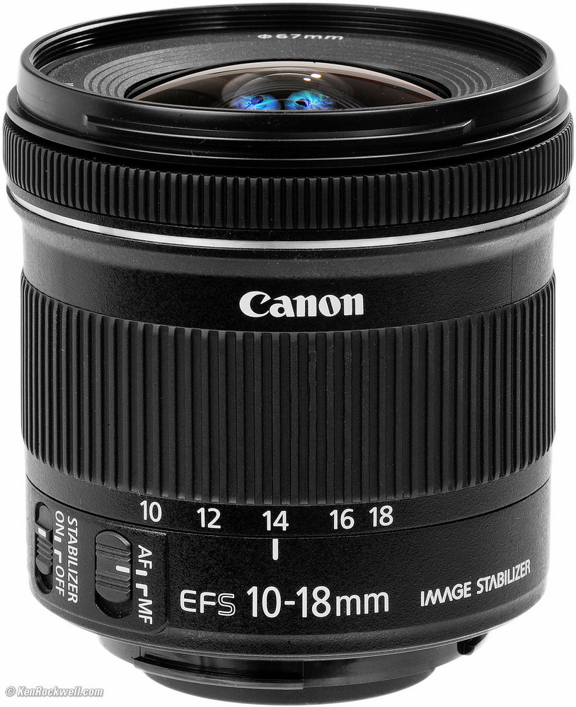Canon 10-18mm F4.5-5.6 IS STM- Mới 100%