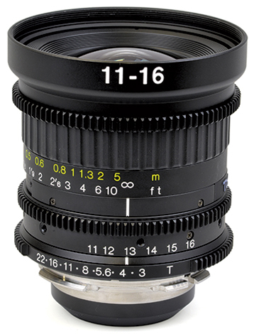 TOKINA 11-16mm T3 Wideangle Zoom Lens