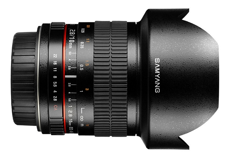SAMYANG 10MM F/2.8 FOR CANON - Mới 100%