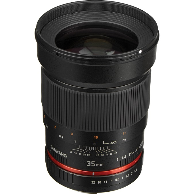 SAMYANG 35MM F/1.4 AS UMC For Canon - Mới 100%