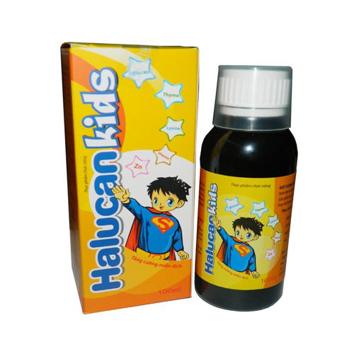 Halucan Kids chai 100ml