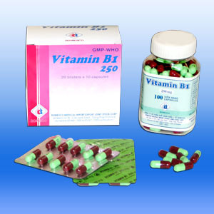 Vitamin B1 250mg VNA (H/200V)