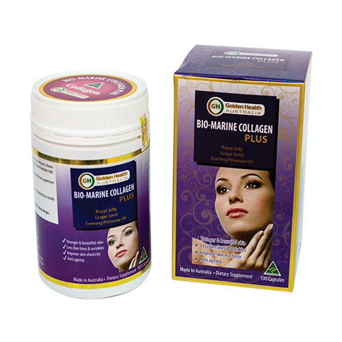 TPCN - Golden Health Bio - Marine Collagen Plus - Dưỡng da Colagen