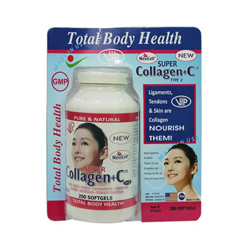 TPCN - Collagen + C 200 viên Neocell Mỹ - Collagen C Neocell Super