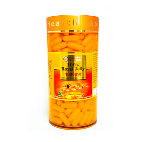 TPCN - Golden Health Royal Jelly 1600mg - Sữa ong chúa 1600mg (365 viên)