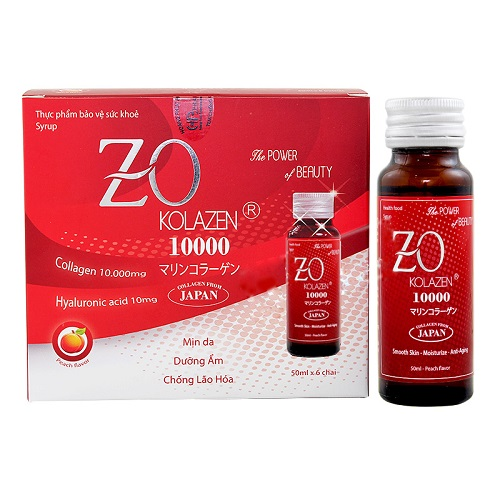 Collagen Zokolazen (10000mg x 6 Chai)